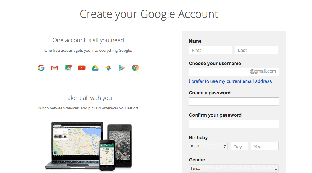 How To Create Your Google Accounts